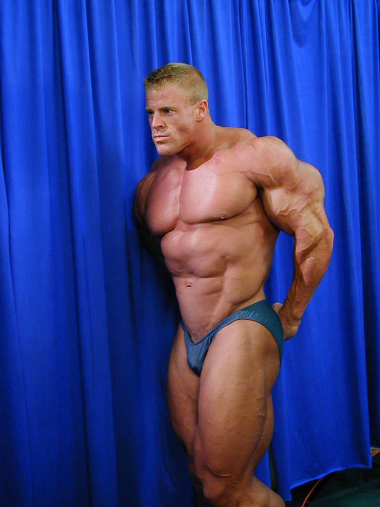 Giant Bodybuilder Scott Klein. Our Advertisers: