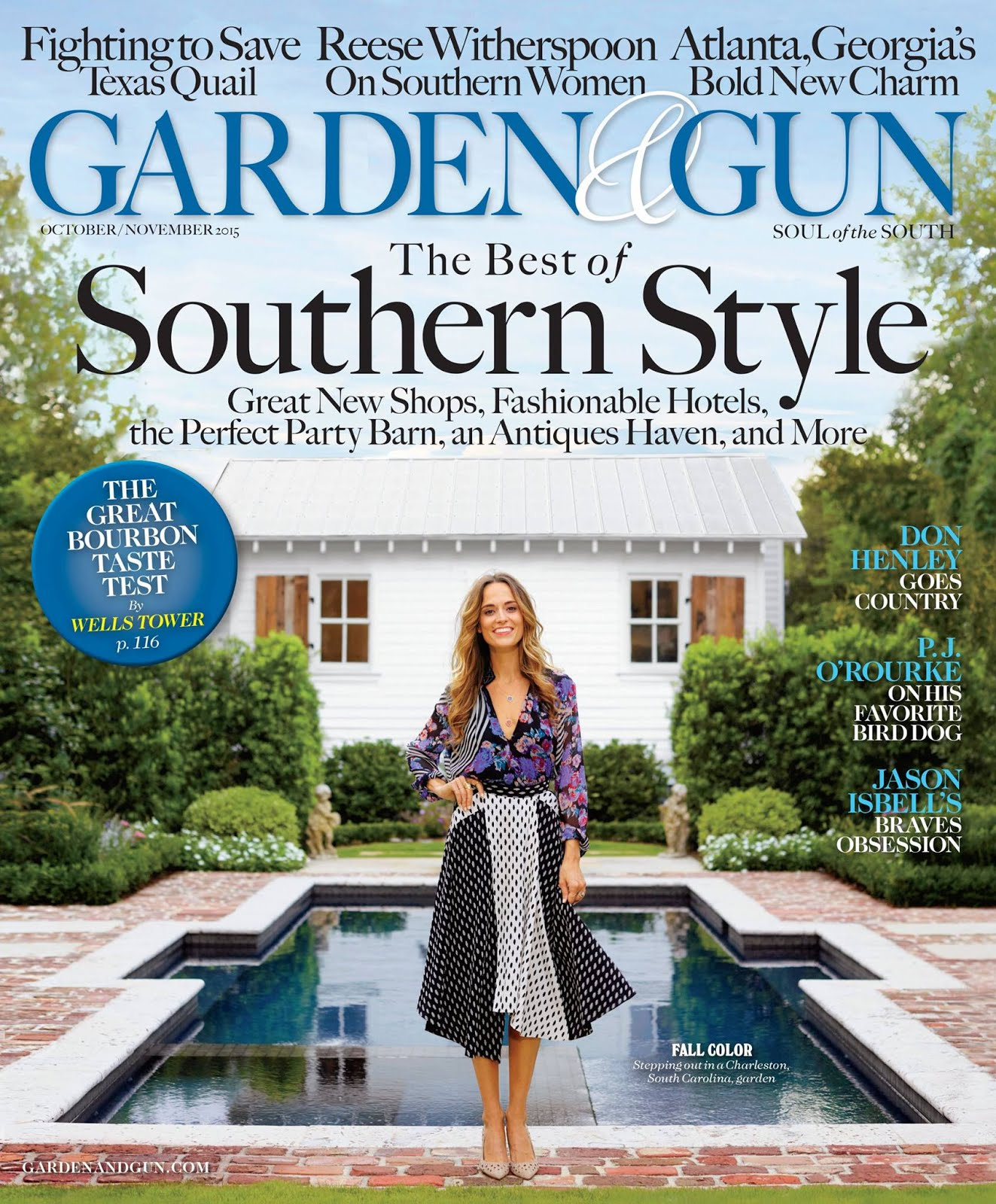 Garden & Gun | Oct/Nov '15