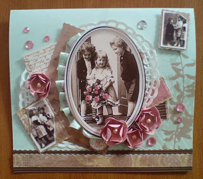Basteln und gestalten blog retro geburtstagskarte mit pop up klavier - Geburtstagskarte basteln pop up ...