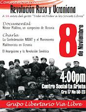 Conmemoración de la Revolución Rusa y Ucraniana
