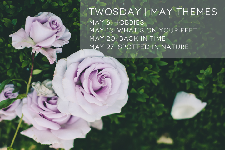 """twosday link up themes for May"""