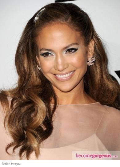 Fotos Top 10 en peinados con flequillo Jennifer López  - Peinados Jennifer Lopez