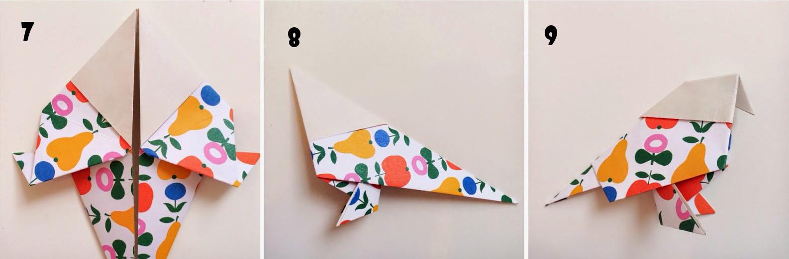Cara Membuat Origami Burung Merpati Paling Mudah - Bikin