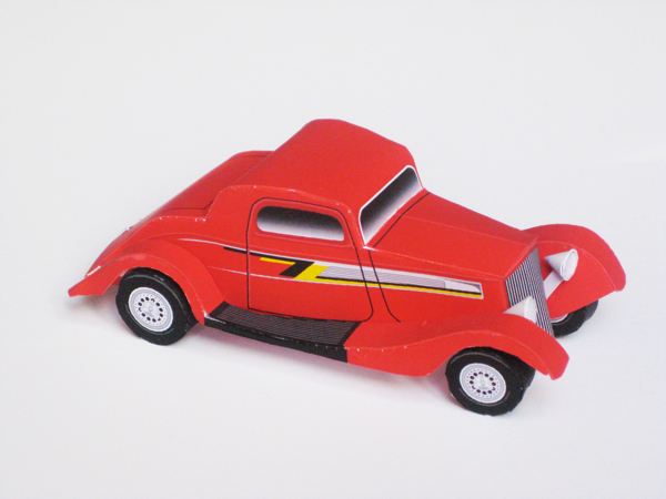 ZZ Top Eliminator Papercraft Hot Rod