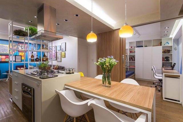 Apartamento moderno de 70 metros cuadrados arquitexs for Apartamentos modernos 2016