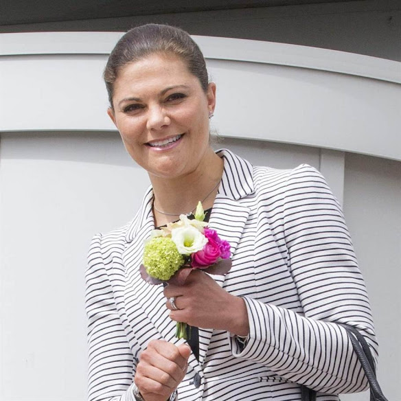 Crown Princess Victoria of Sweden visited The International Criminal Court (ICC)