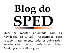 Todas as novidades do Blog do SPED por email !!!