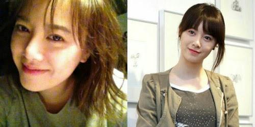 7 Foto Artis Wanita Korea Tanpa Make Up
