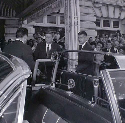 SAIC Behn with JFK
