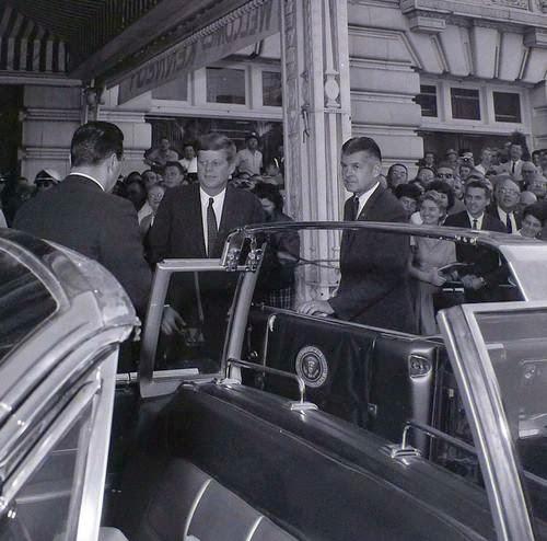 SAIC Behn with JFK
