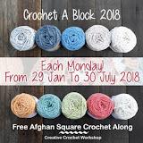 CROCHET A BLOCK AFGHAN 2018