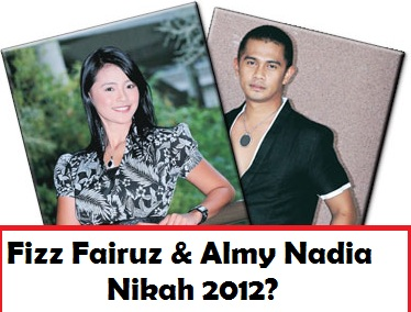 Fizz Fairuz dan Almy Nadia