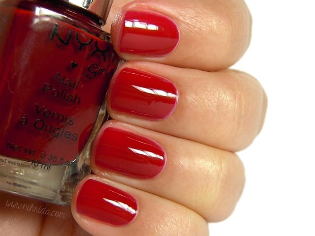 NYX Girls - Red Noir