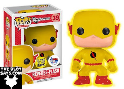 Dallas Comic Con 2013 Exclusive Reverse Flash Glow in the Dark Edition Pop! Heroes Vinyl Figure by Funko