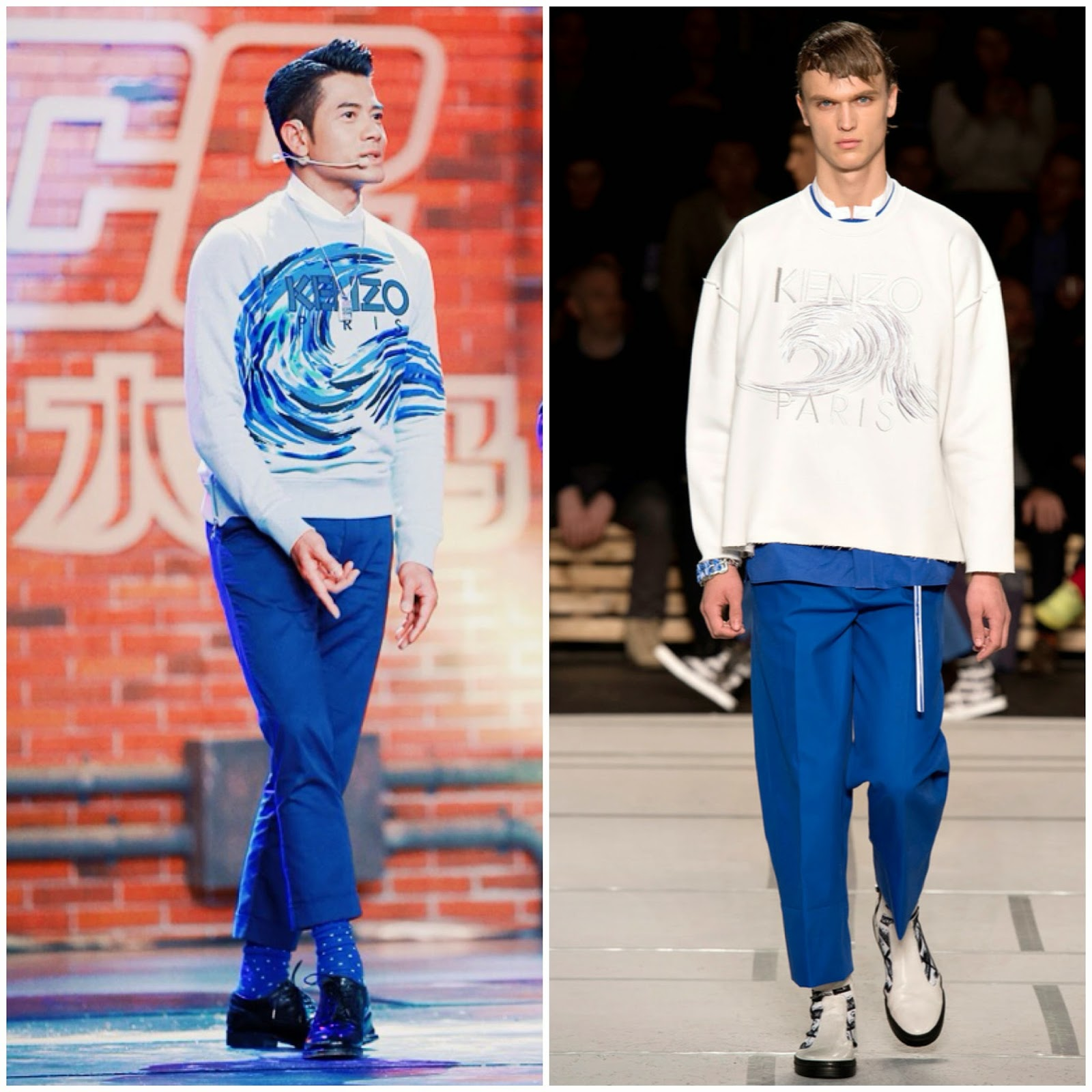 Aaron Kwok Fu-Shing in Kenzo - So You Think You Can Dance, China 郭富城亮相[中国好舞蹈]