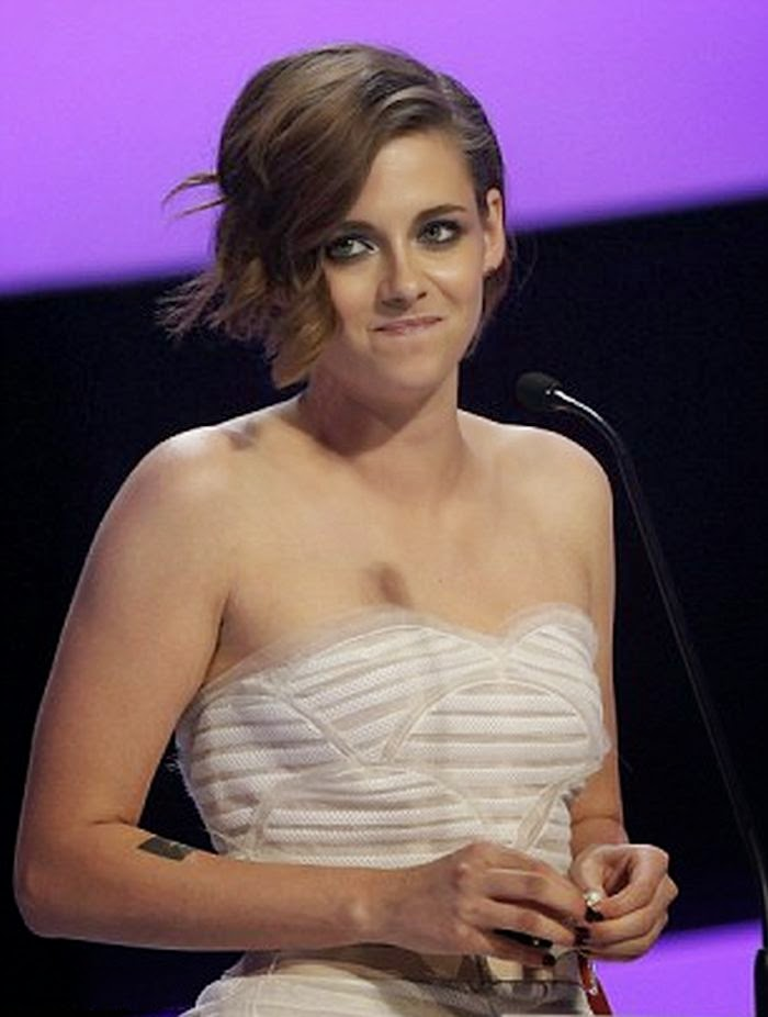 Kristen Stewart was telling to us about her amazing talent, gorgeous, and humble to the world during the Cesar Awards in Paris, France on Friday, February 20, 2015.