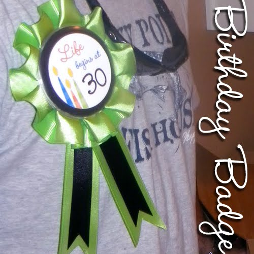 Surprise 30th birthday party for michael life begins at for 30 birthday decoration ideas
