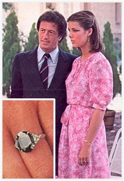Princess Caroline Monaco Engagement Rings