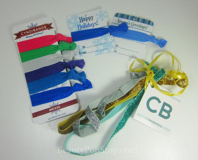 cyndibands elastic hair bands review holiday gift idea