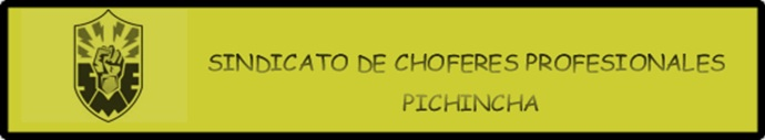 SINDICATO DE CHOFERES PICHINCHA