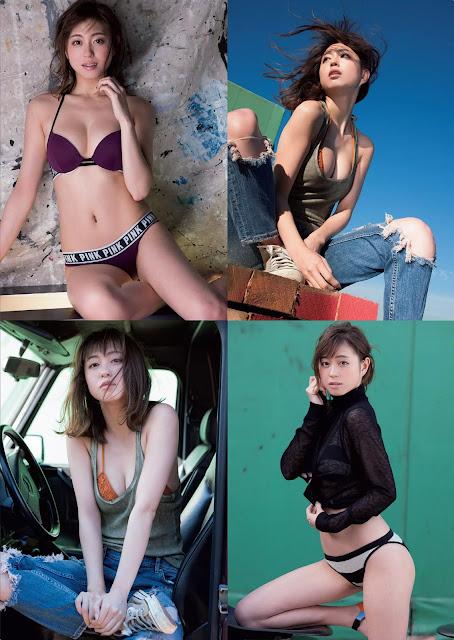 Okawa Ai 大川 藍 Weekly Playboy No 52 2015 Images 2