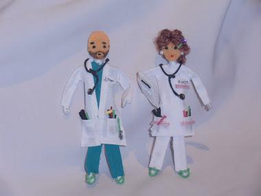 Médicos , enfermeras personalizados