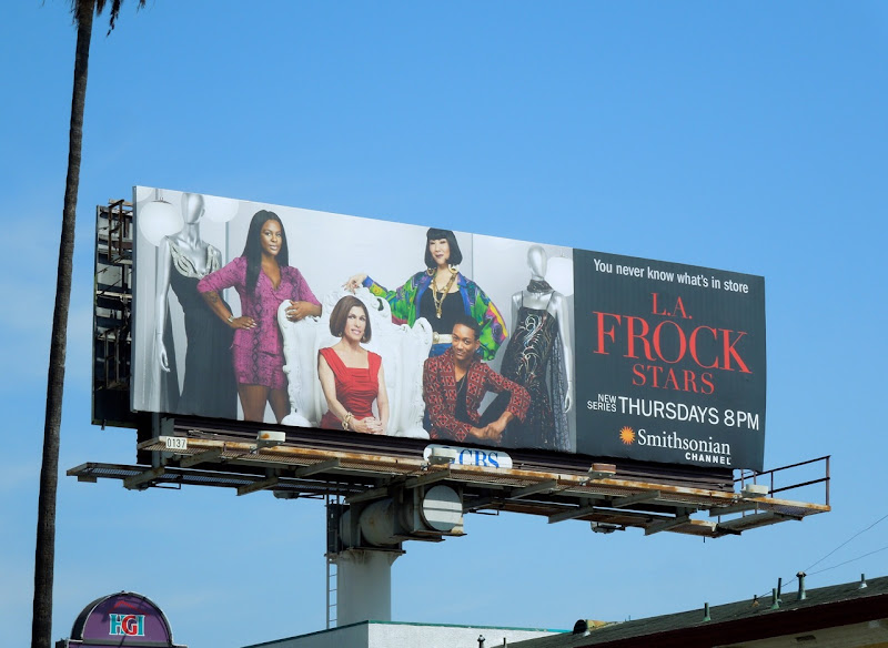 LA Frock Stars billboard