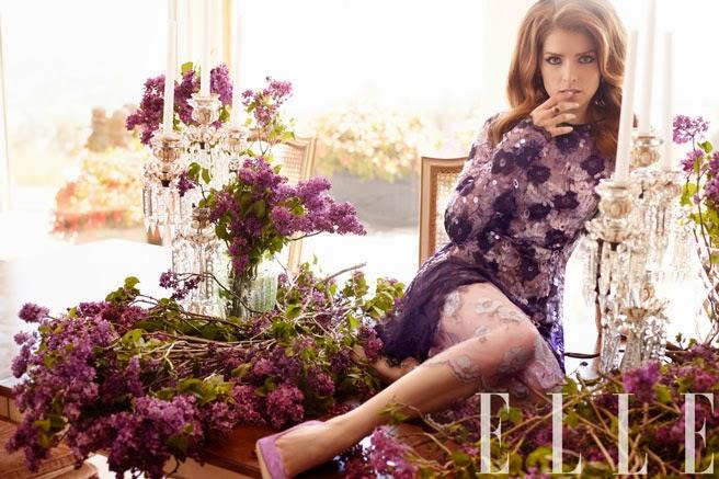 Anna Kendrick - Hot Photoshoot For Elle Magazine July 2014