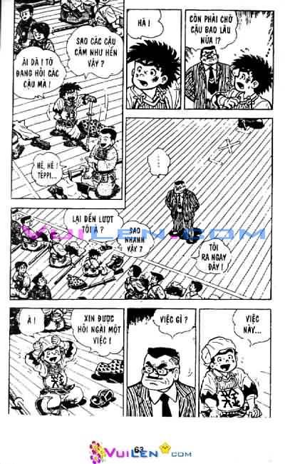 Siêu quậy Teppi chap 33 - Trang 60