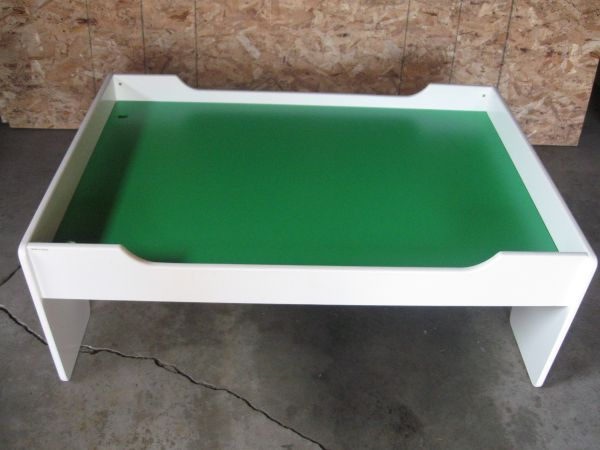 Train Or Car Table With Two Side Drawers (USED)