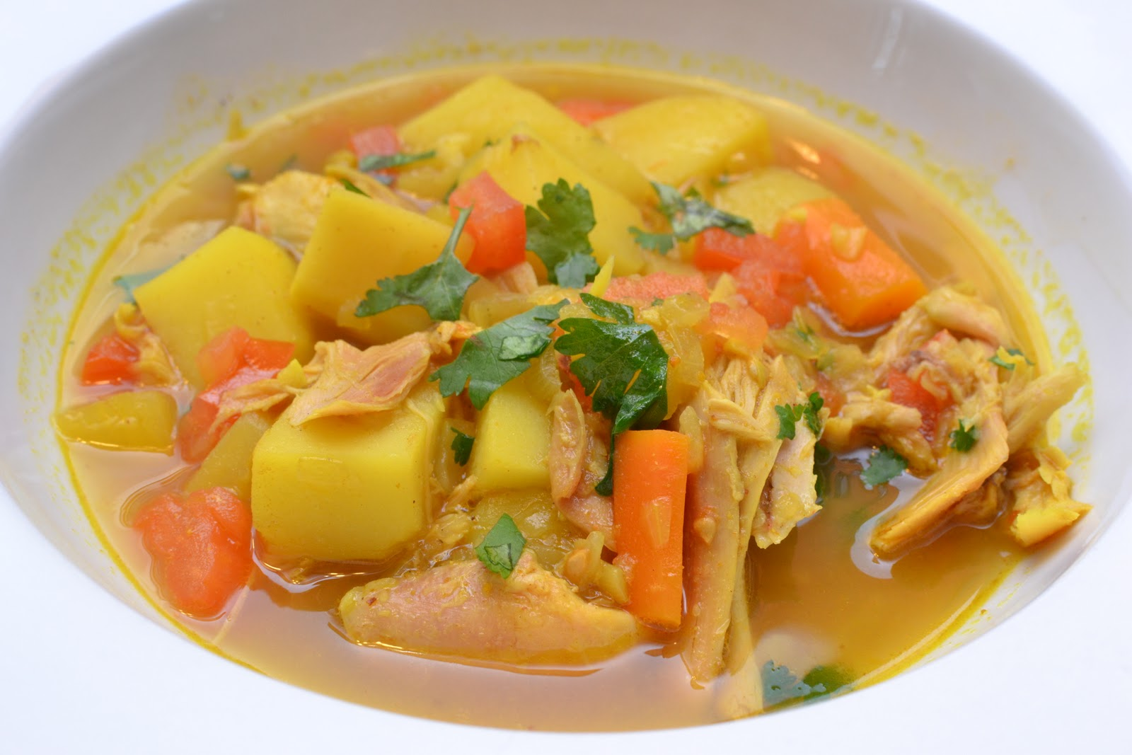 Sense of Home Kitchen: Moroccan-Style Chicken and Root Vegetable Stew