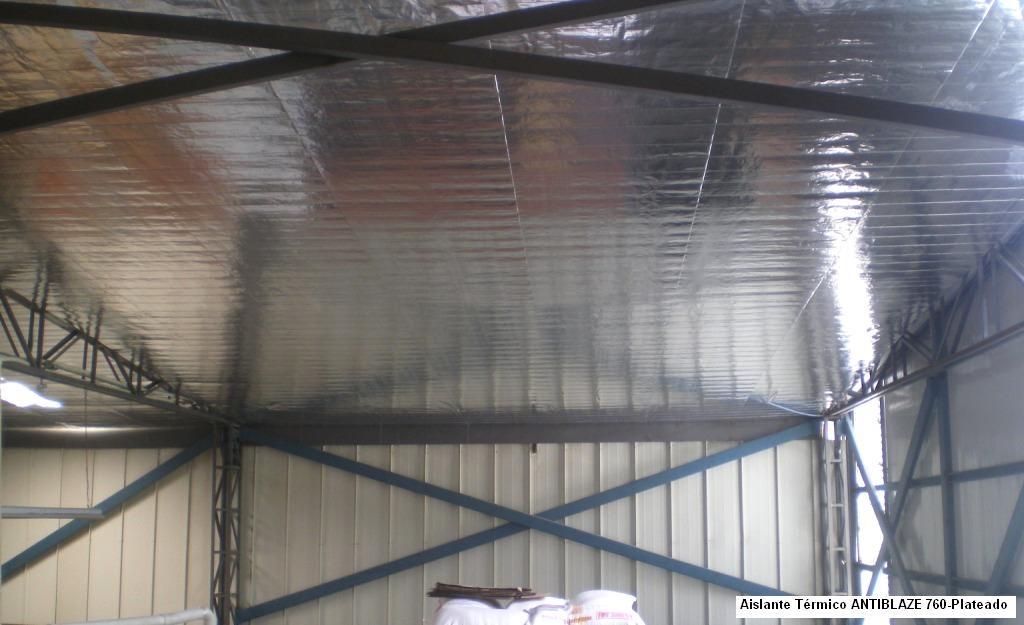 Aislante t rmico para techos y recubrimientos de protecci n - Aislante de calor para techos ...