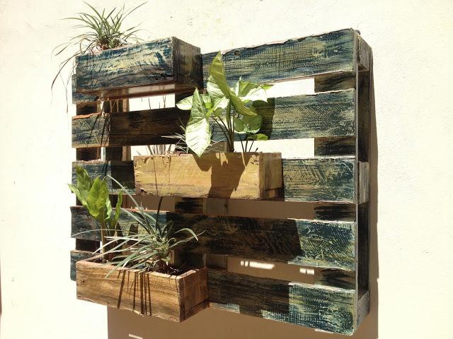 jardim vertical recife : jardim vertical recife:DESSERT: Receitas de Decoração: Jardim Vertical de Pallet