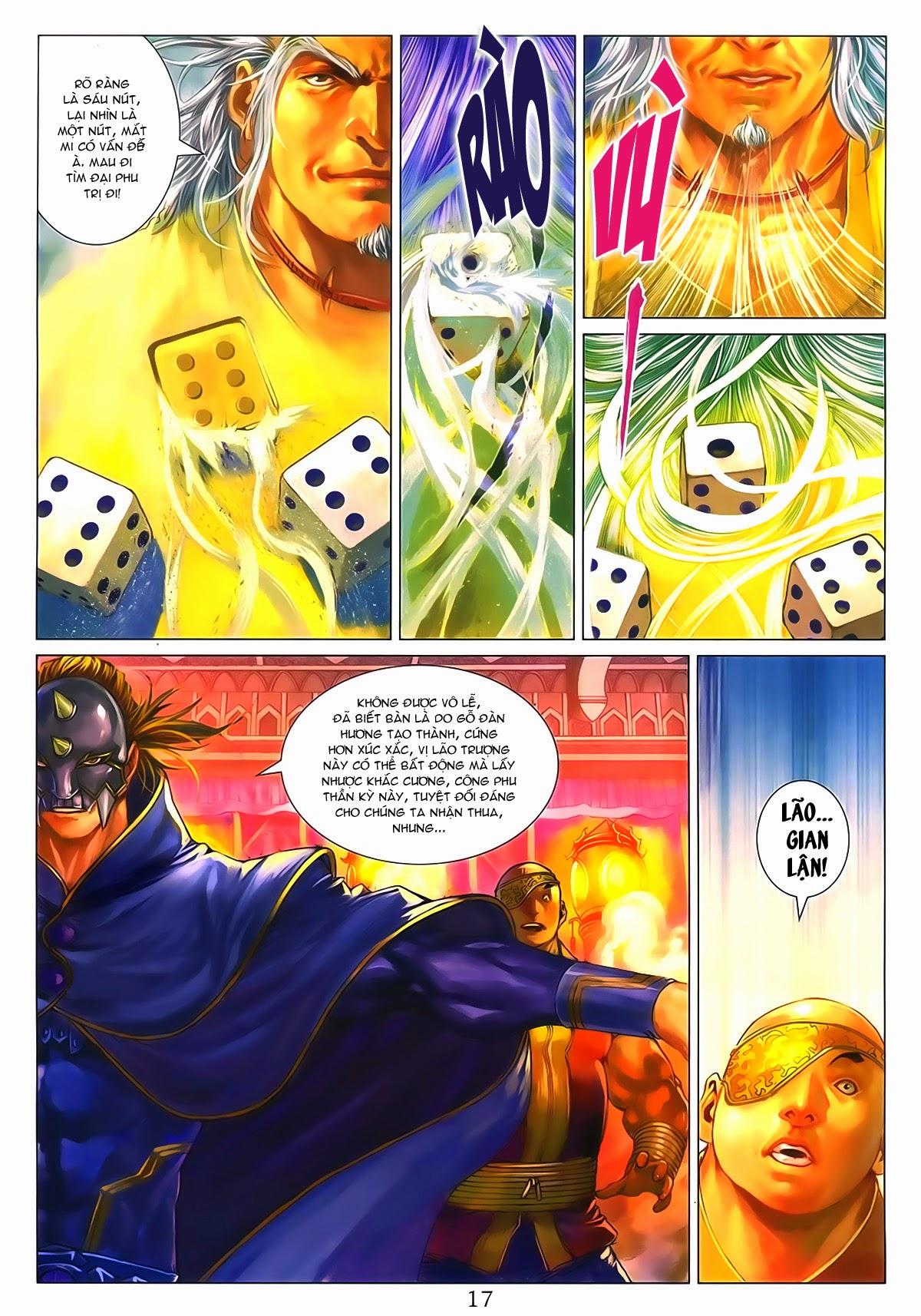 Tứ Đại Danh Bổ Chap 286 - Trang 17