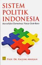 toko buku rahma: buku SISTEM POLITIK INDONESIA, pengarang kacung marijan, penerbit prenada