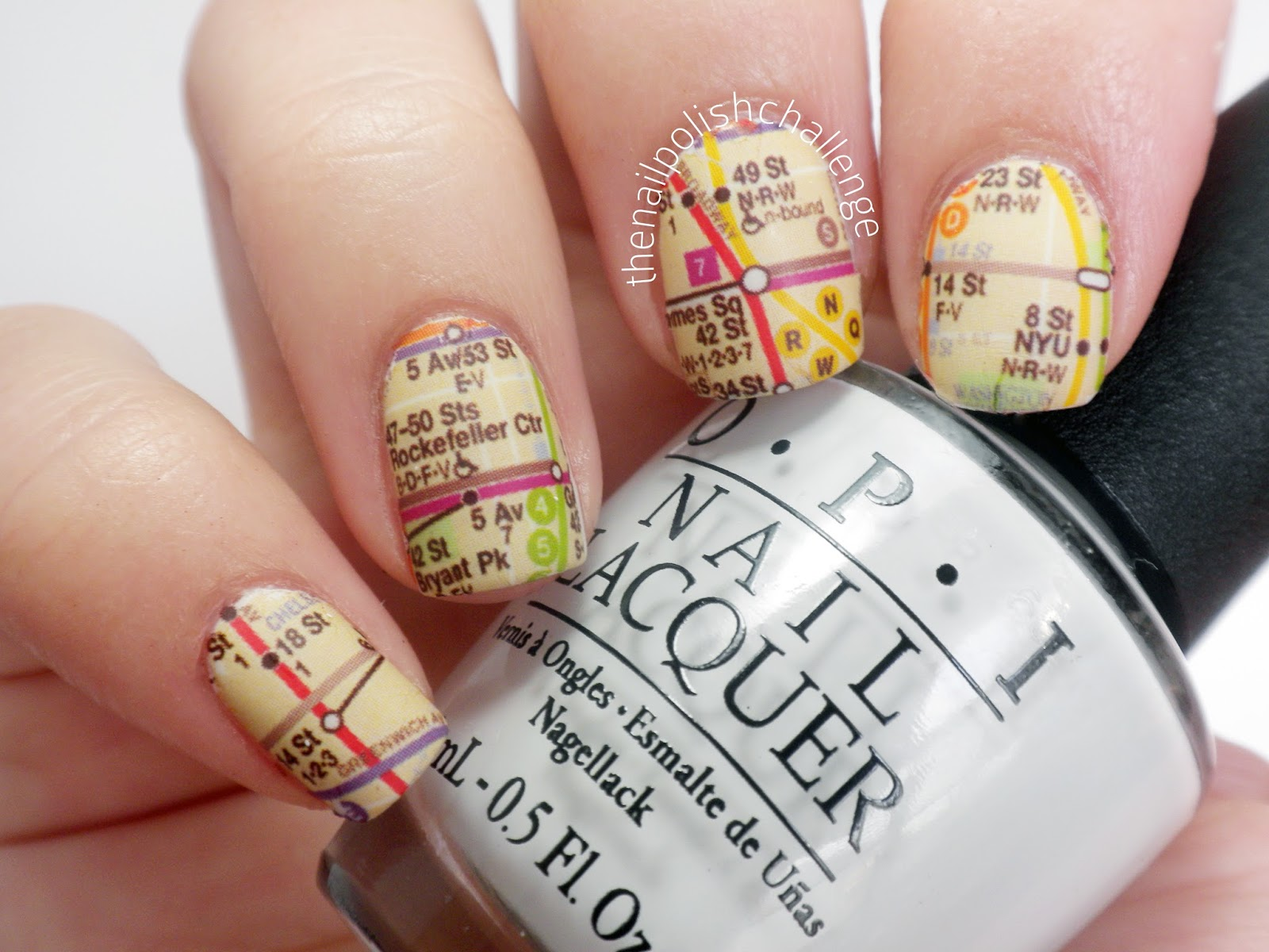 Kelli marissa fingrs nail tattoos review i tried the subway map decal and it turned out pretty well i didnt use the provided polishes though i went with opi my boyfriend scales walls just to prinsesfo Gallery