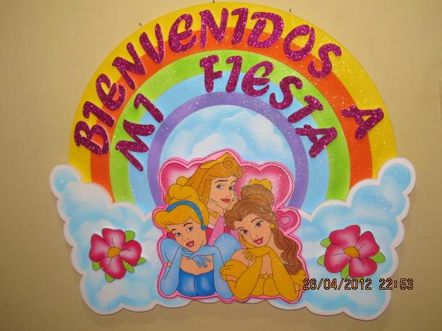 Princesas disney decoracion fiestas infantiles fiestas - Decoracion fiesta princesas disney ...