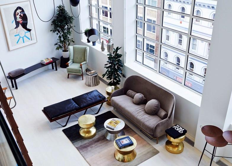 Einrichten und Wohnen mit leichter Hand - Alt-Neu-Design-Mix in London