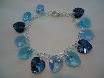 FIRST GIVEAWAY!  The Blue Sea Bracelet