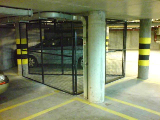 zabudowa miejsca do parkowania w garażu podziemnym warszawa