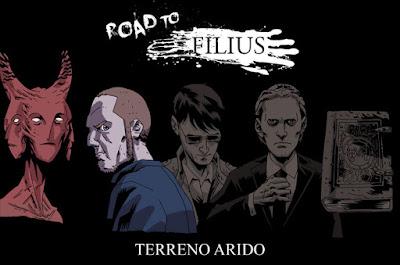 Undead Trinity - Road to Filius - Terreno arido