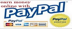 earn money online with paypal
