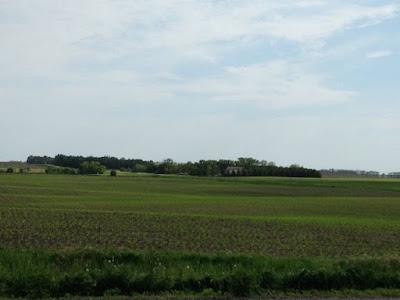 farm field, southwestern Minnesota, Spring
