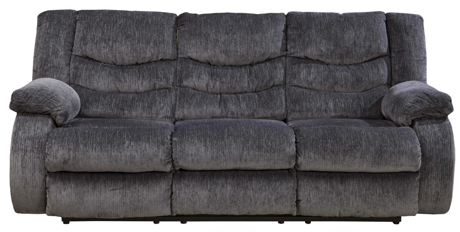 Navy blue reclining sofa navy blue reclining sofa stjames for Blue leather reclining sofa