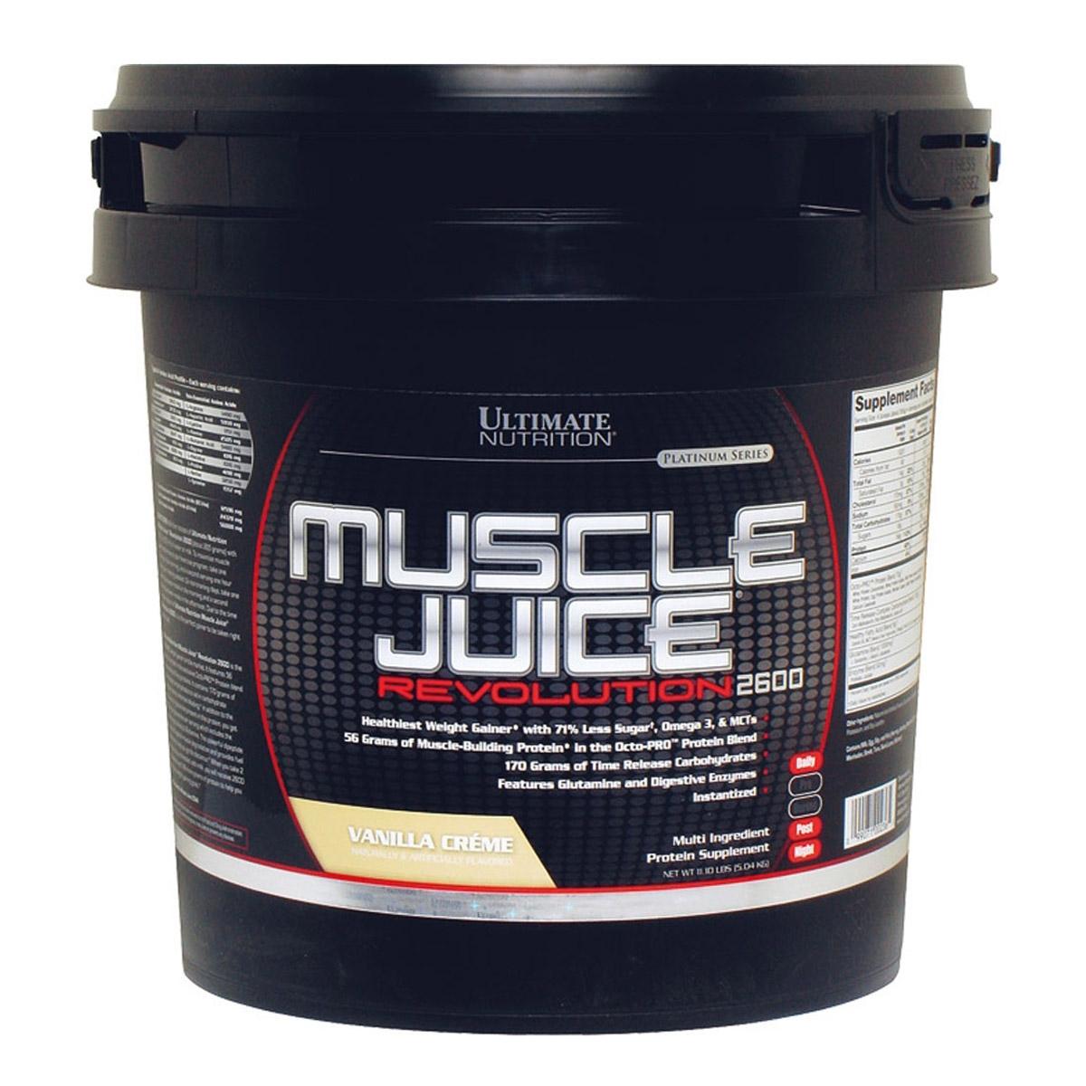 Health Designs: Ultimate Nutrition Muscle Juice Revolution