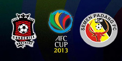 Hasil Pertandingan Semen Padang Vs Churchill Brothers di AFC Cup 2013