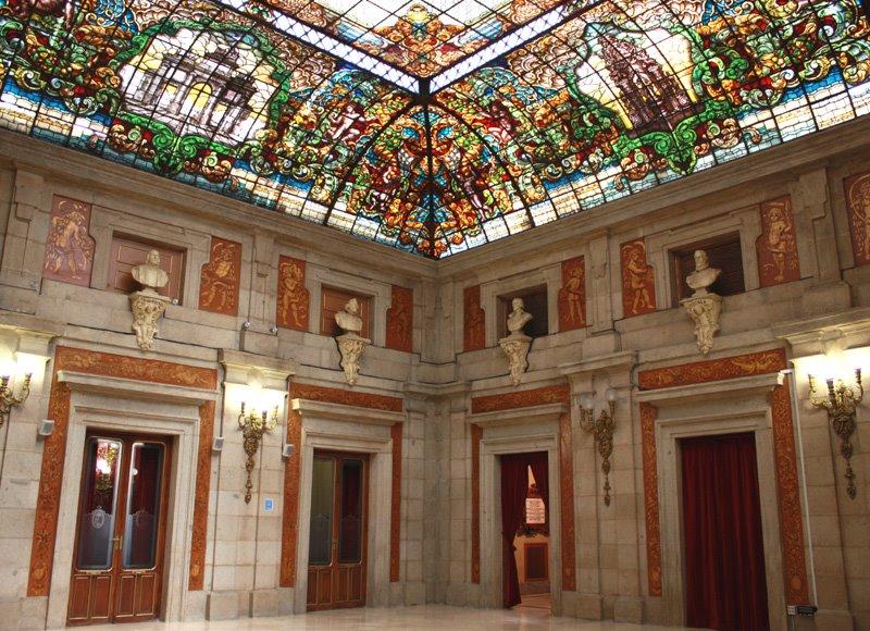 Madrid con encanto casa de la villa for Casa la villa