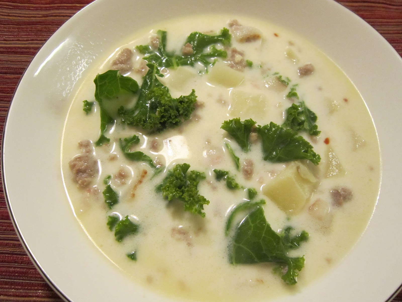 Sweet Beginnings: Recipe Swap: Zuppa Toscana