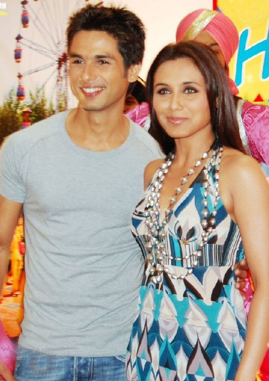 rani mukherjee and shahid kapoor1 - rani mukherjee and shahid kapoor Pics