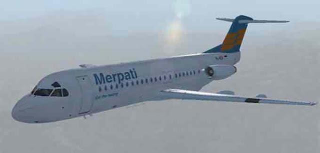 Foto Gambar Pesawat Terbang Merpati Airlines 20